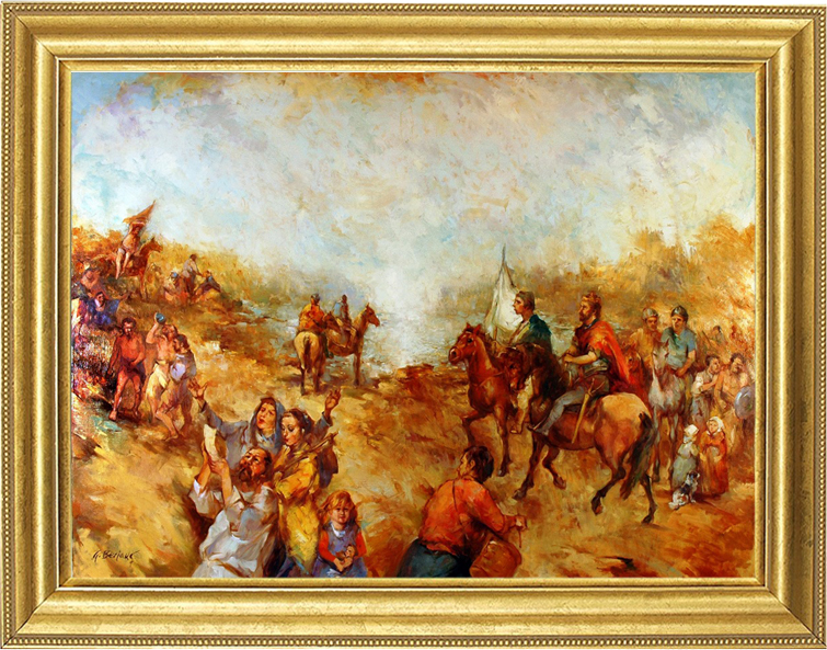 Gorazd Bezjak - The arrival of Croats