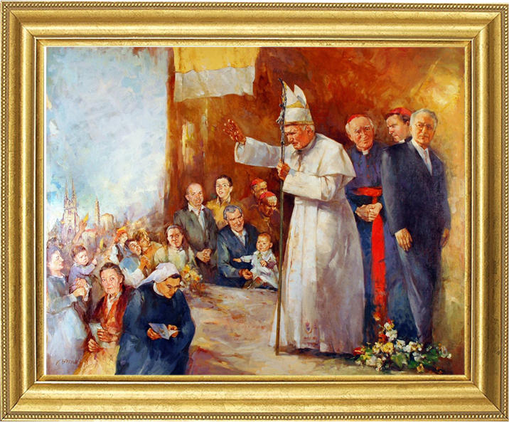 Gorazd Bezjak - Pope John Paul II